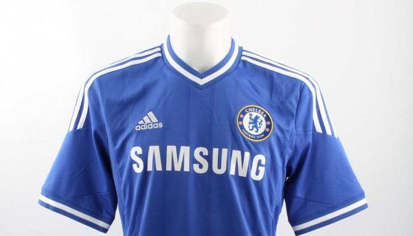 the latest aafa8 3d4c3 Official Replica Chelsea 2013/14 Shirt Signed by Frank Lampard -  CharityStars