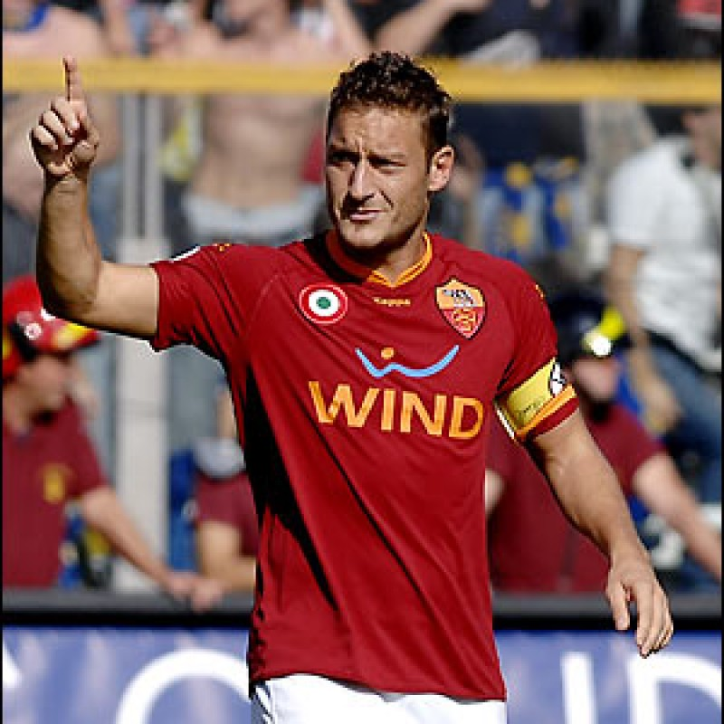 Francesco Totti's Captain's Armband - 2007/08 Season