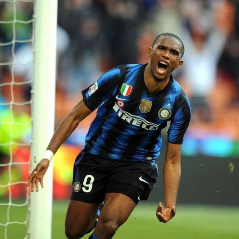 Eto'o's Official Inter Signed Shirt, 2010/11
