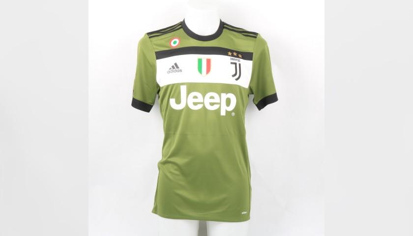 Dybala's Juventus Match Shirt, Serie A 2017/18