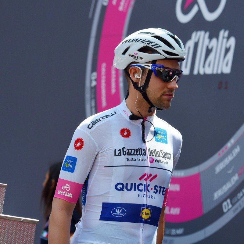Schachmann's White Signed Jersey, Giro d'Italia 2018