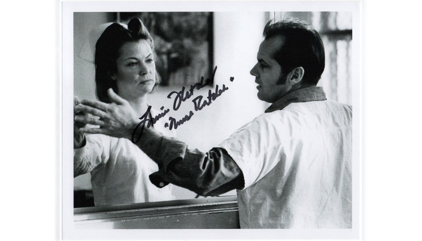 """""""One Flew Over the Cuckoo's Nest"""" - Louise Fletcher Signed Photograph"""