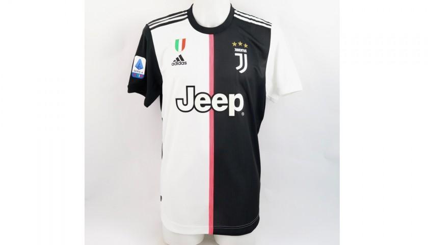 Ronaldo's Juventus Match Shirt, Serie A 2019/20