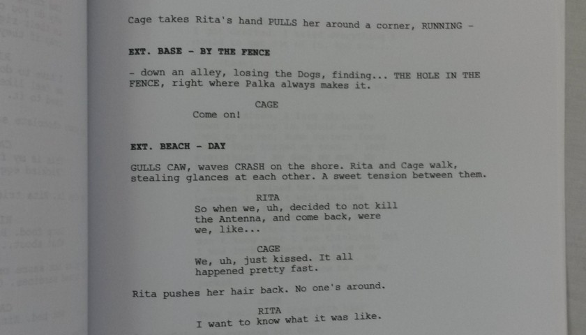 edge of tomorrow script pdf