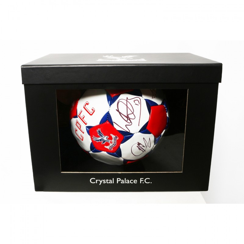 Crystal Palace Match Football Signed by the 17|18 CPFC Squad
