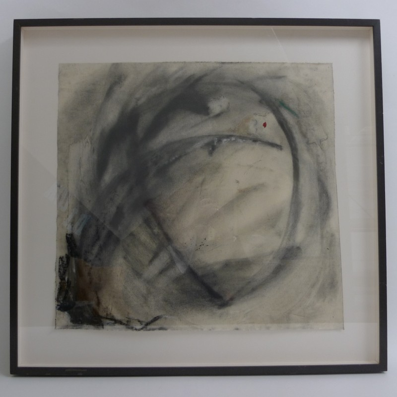 A Study of Charcoal and Oil by Cynthia Sparrenberger
