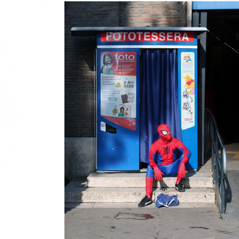 "Marcello Di Donato ""Spiderman"" c-print limited edition 40x60 cm"