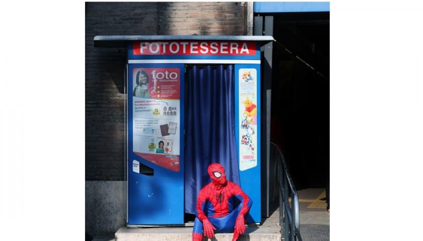 """Marcello Di Donato """"Spiderman"""" c-print limited edition 40x60 cm"""