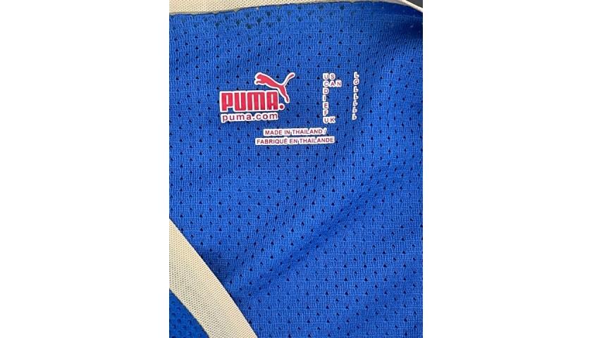 Del Piero's Italy Match Shirt, 2006/07