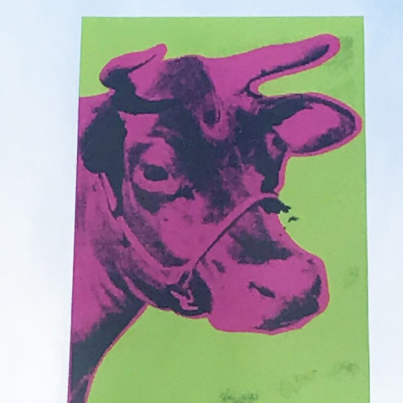 """Cow"" by Andy Warhol"