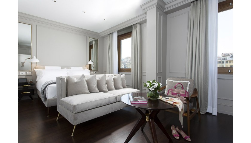 Enjoy a Two-Night Stay for Two at Portrait Firenze