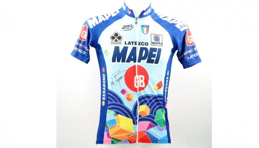 Bugno Mapei's Worn and Signed 1997 Giro d'Italia Shirt