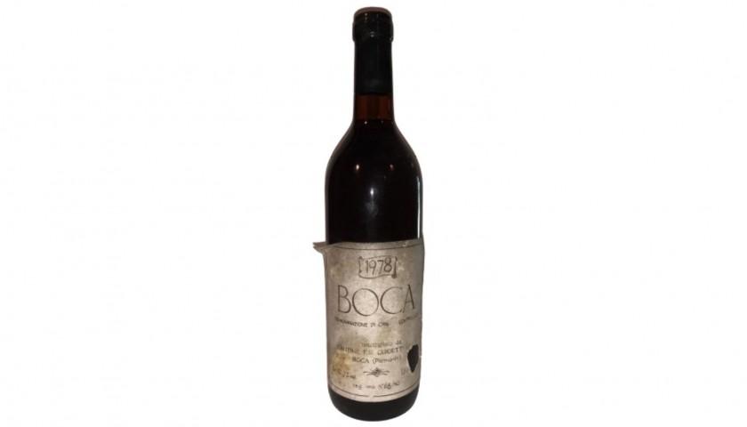 Bottle of Boca, 1978 - Cantine Guidetti