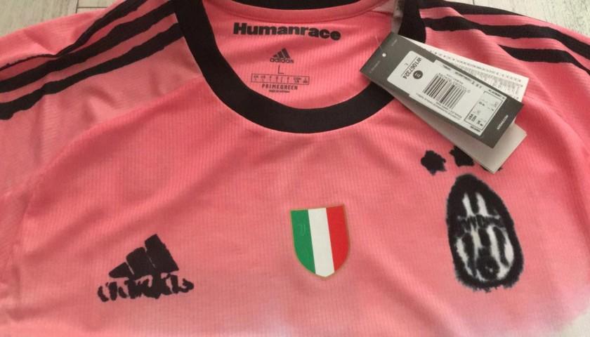 ronaldo s official juventus shirt 2020 21 humanrace charitystars ronaldo s official juventus shirt 2020