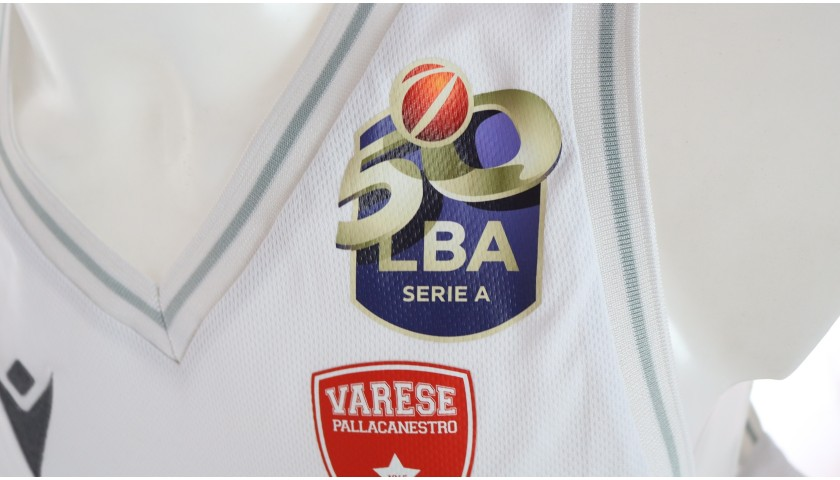Scola's Signed Match Jersey, Varese-Milano Supercoppa 2020