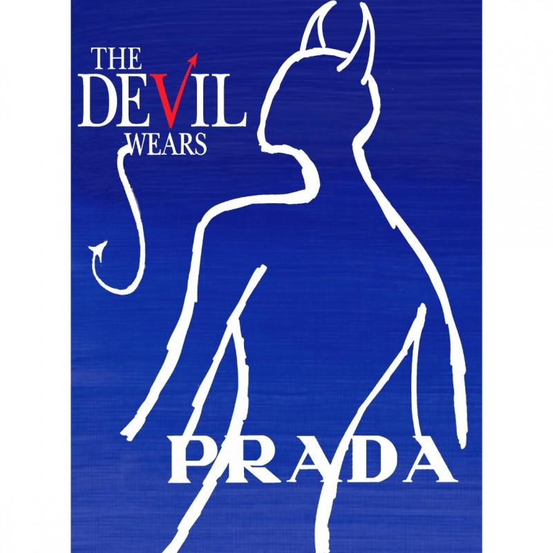 """The Devil wears Prada"" Original Limited Edition Board by J.E."