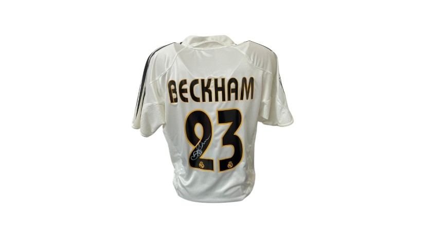 Beckham's Official Real Madrid Signed Shirt, 2004/05