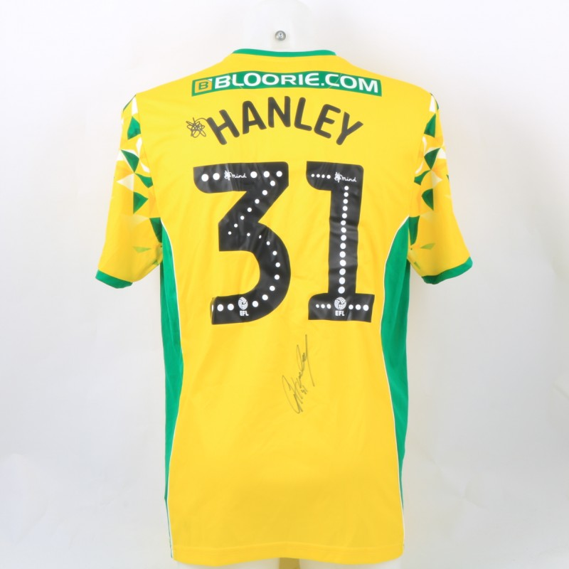 Hanley's Norwich Poppy Match Shirt - Signed