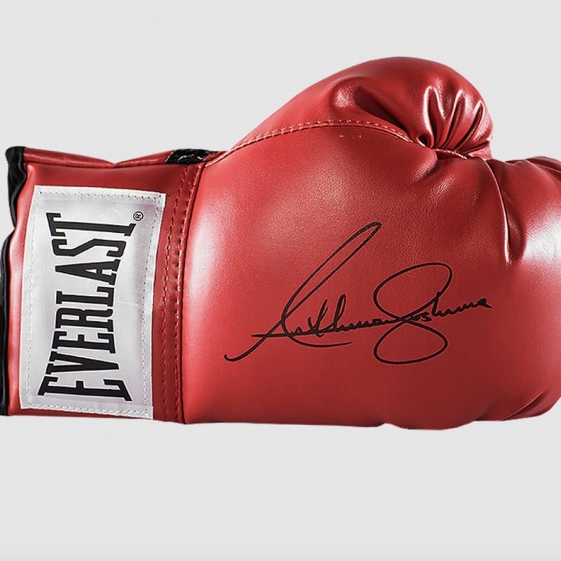 Anthony Joshua's Signed Everlast Boxing Glove