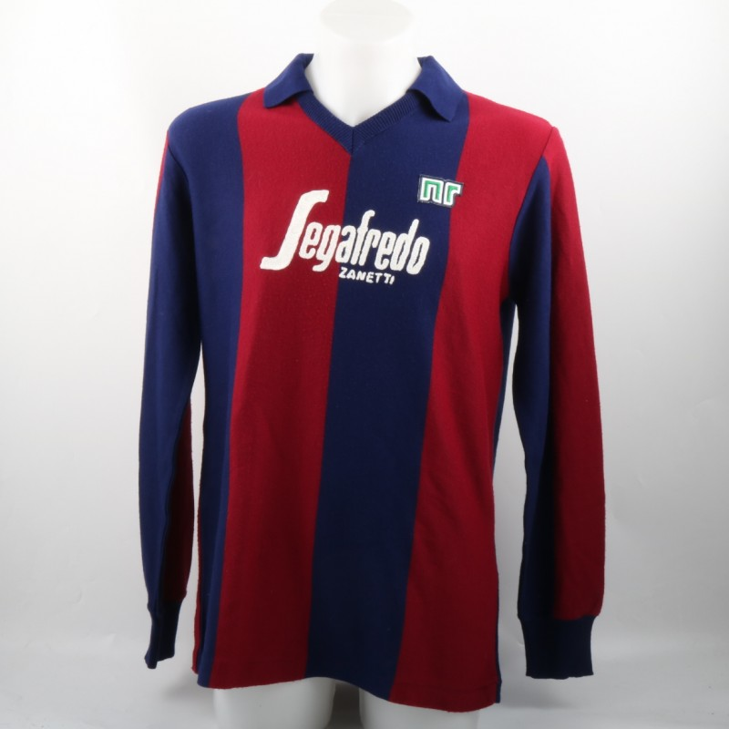 Gianluca Luppi Match Worn Shirt, Serie B 1986/87