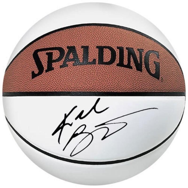 Kobe Bryant Basketball with Printed Signature
