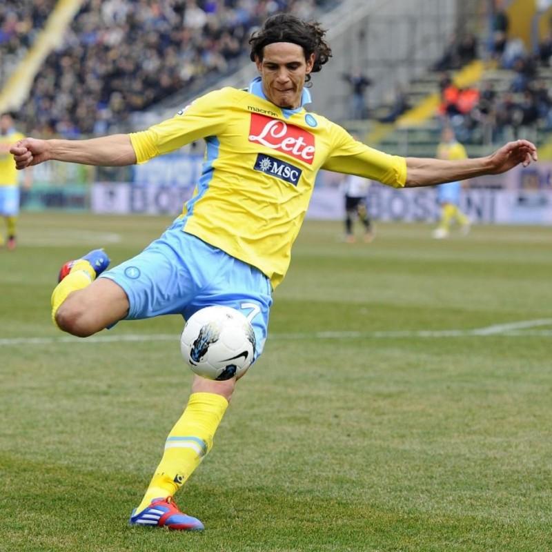 Cavani's Official Napoli Signed Shirt, 2011/12