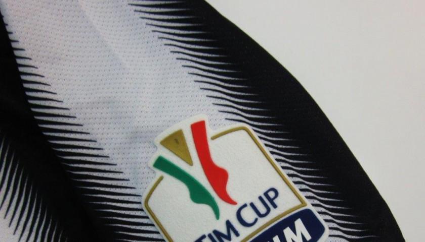 Chiellini Juventus match worn shirt, Juventus-Napoli TimCup 2012 Final - signed