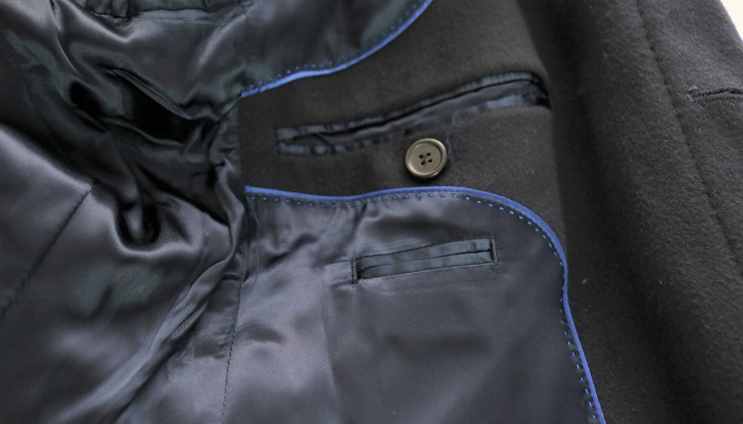 Italy National Football Team Jacket Worn by Claudio Marchisio