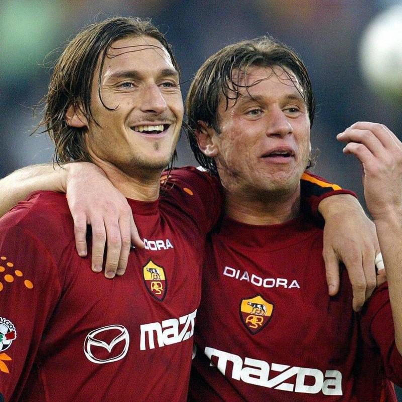 Cassano's Roma Match Shirt, 2003/04