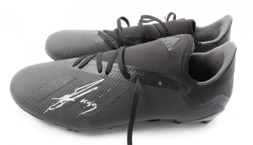 Adidas X 18.3 Boots Signed by Karim Benzema