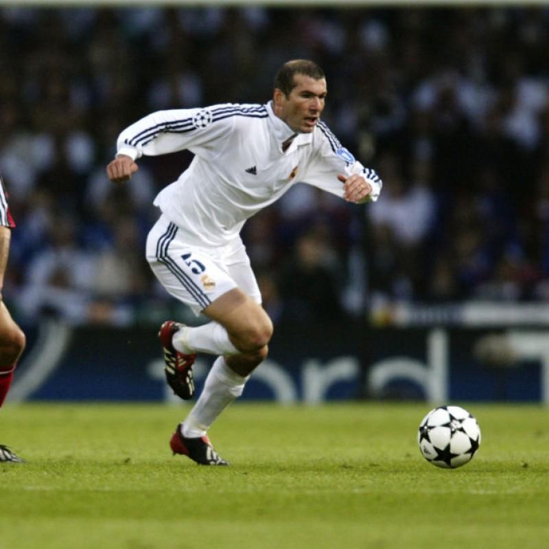 Personalized Adidas Predator Boots Signed by Zinedine Zidane
