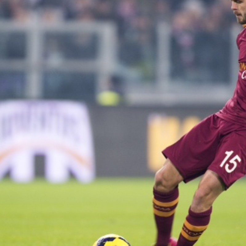 Match issued shirt for Sky Man of the Match, Roma-Milan