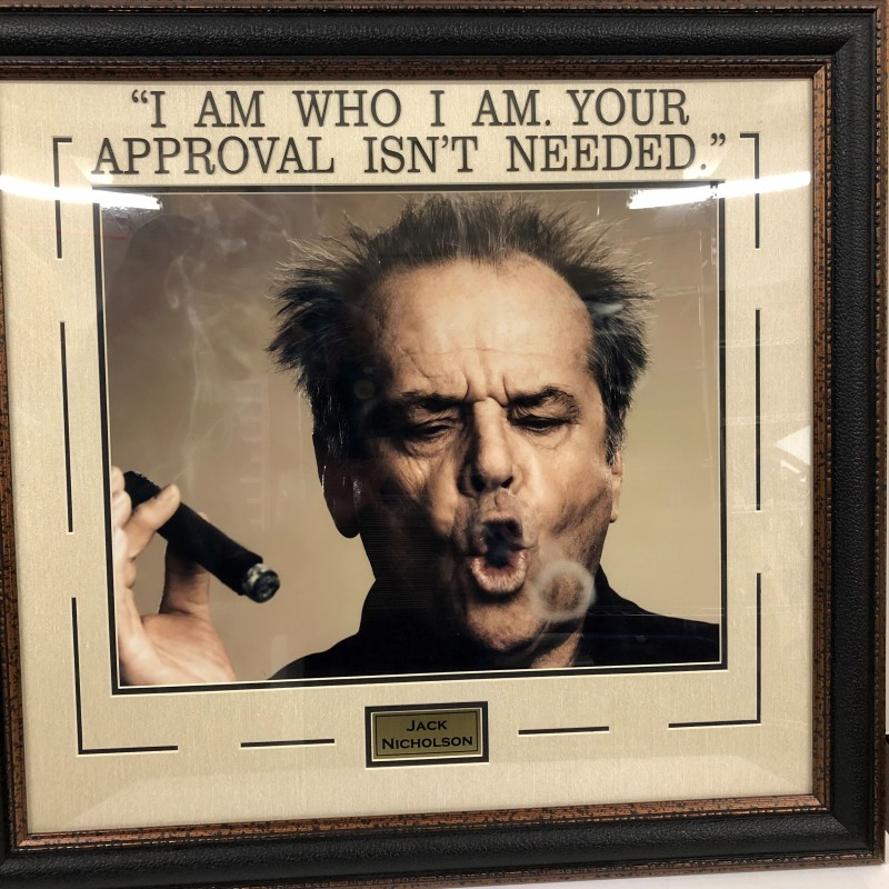 """Jack Nicholson """"I Am Who I Am"""" Photo"""