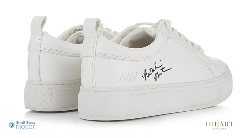 Natalie Portman Signed Shoes