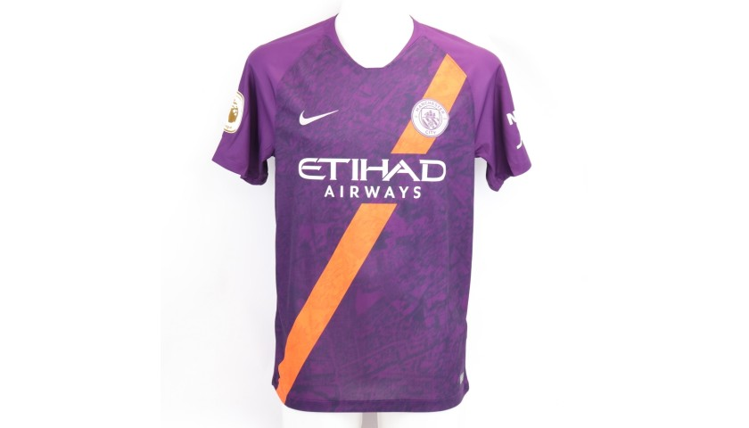 Sane's Official Man City Signed Shirt, 2018/19