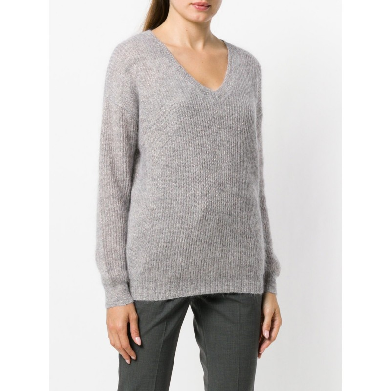 Sparkling Alpaca and Mohair Sweater by Brunello Cucinelli
