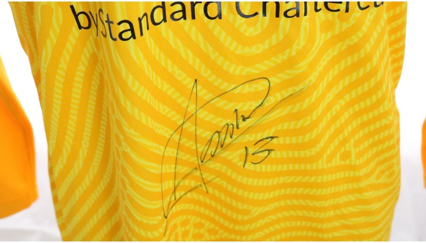 Adrian's Liverpool FC Match-Issued and Signed Shirt, Limited Edition 20/21