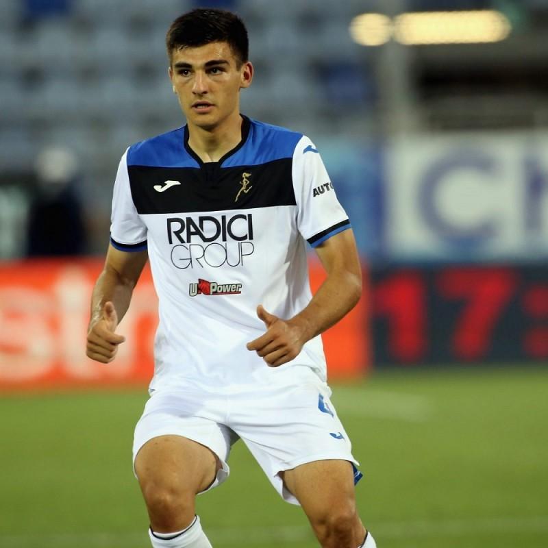 Sutalo's Match-Issued Shirt, Hellas Verona-Atalanta 2020