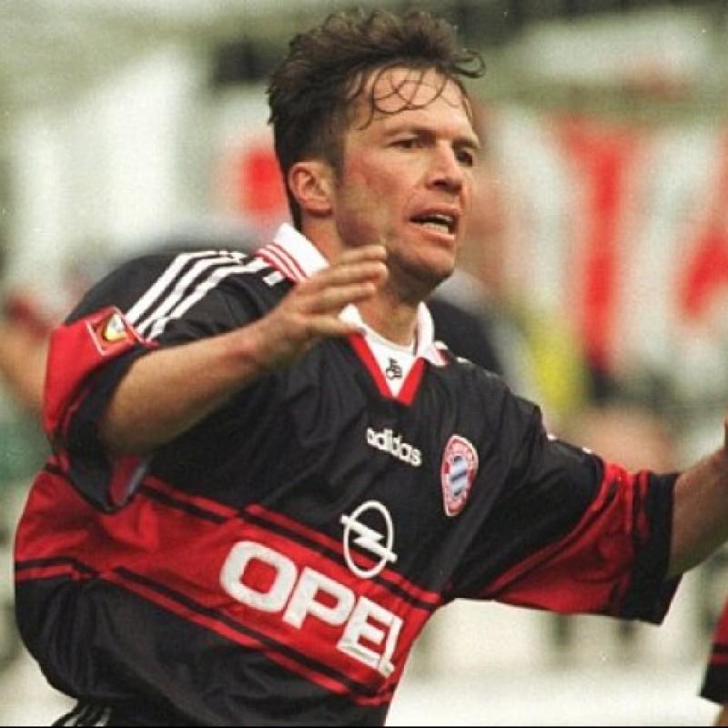 Maglia Gara Matthäus Bayern Monaco, 1997/98 - Autografata