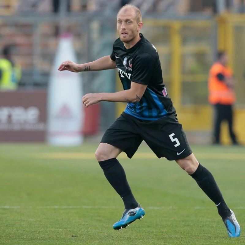 Maglia Masiello indossata Lazio-Atalanta 2016