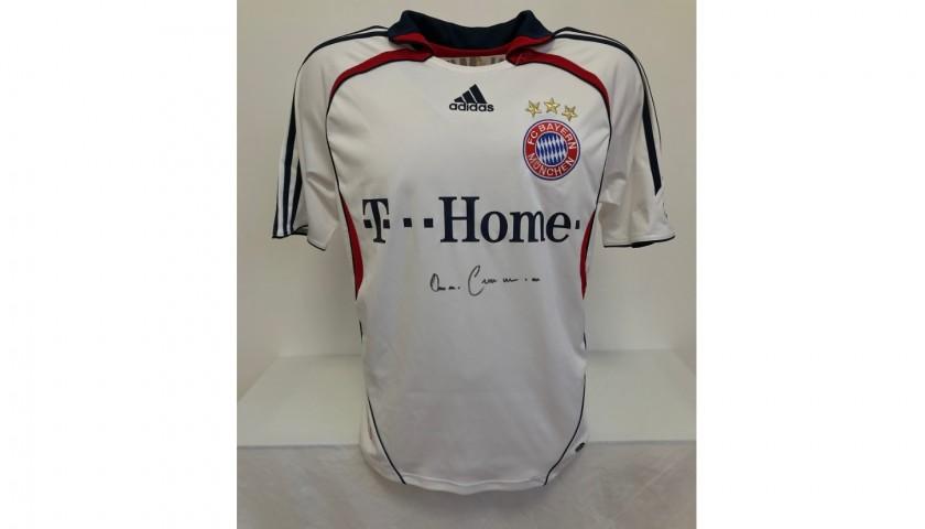 Maglia Ufficiale Bayern Monaco, 2006/07 - Autografata da Beckenbauer