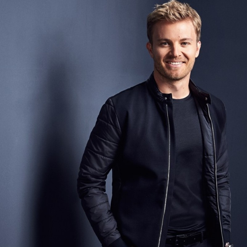 Exclusive HUGO BOSS Jacket Worn and Signed by Nico Rosberg