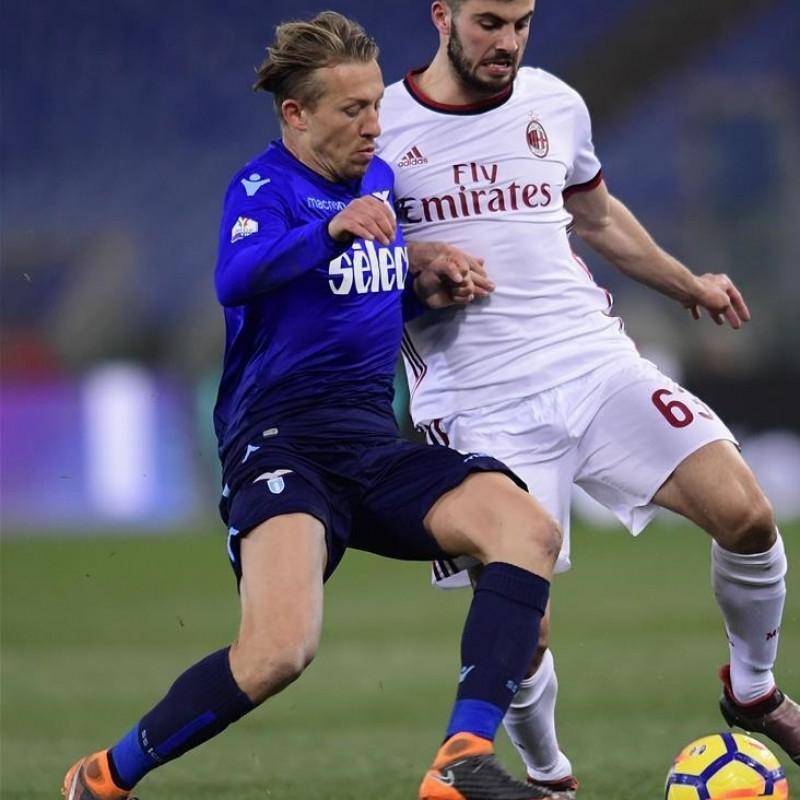Lucas' Match Shirt, Lazio-Milan 2018