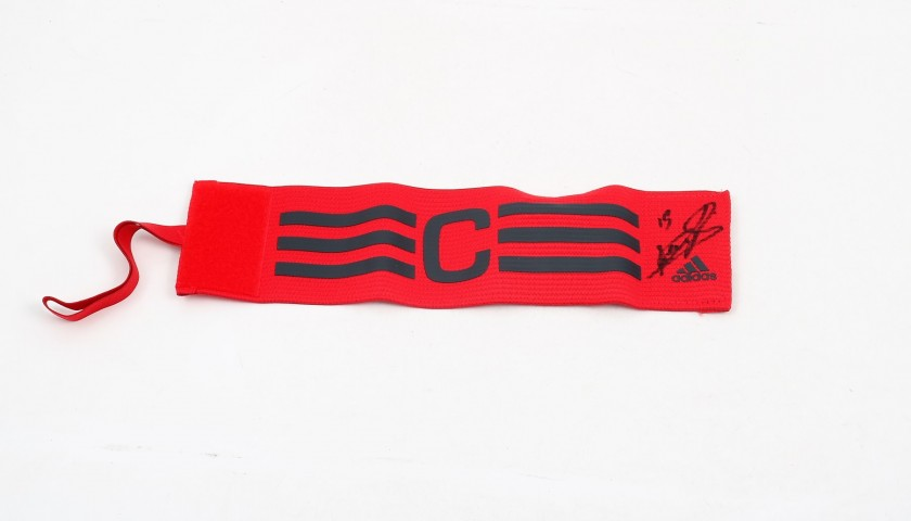 Bonucci's Signed Match-Issued Captain Armband, 2017/18