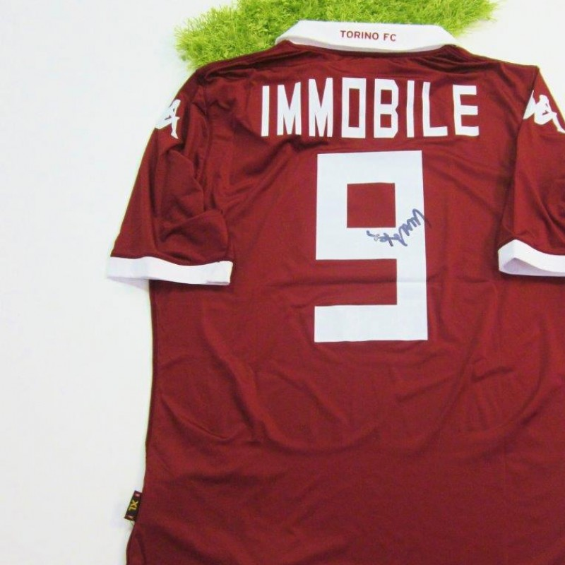 Torino shirt, 2013/2014 - signed by Immobile