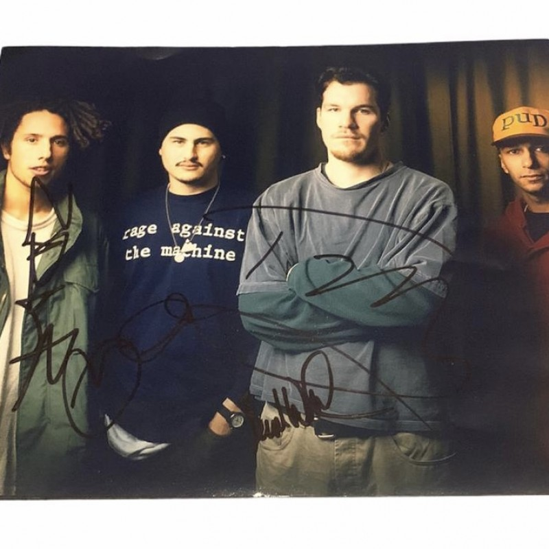 Rage Against The Machine Signed Photograph
