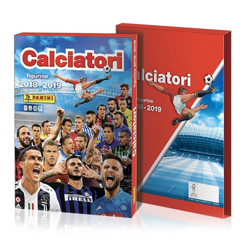 """""""Calciatori Panini 2018/19"""" Special Edition Album + Pennant"""