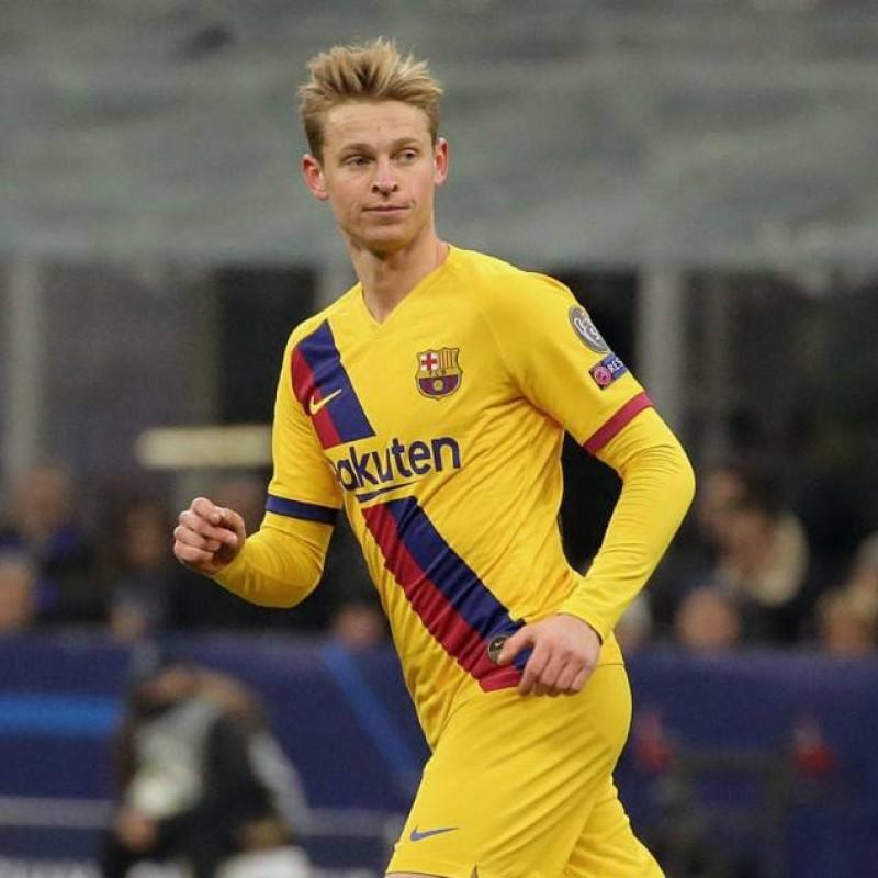 De Jong's Match-Issued Shirt, Inter-Barcelona 2019