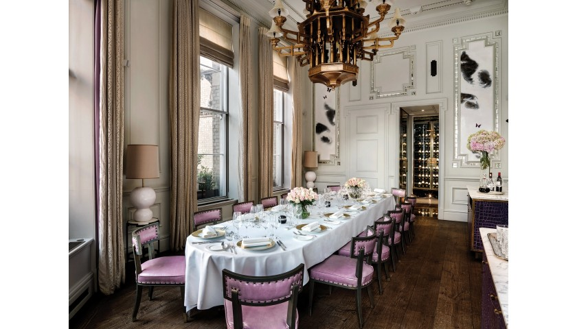 A Chance to Spend an Evening With the Prodigious Michel Roux Jr at the Langham, London