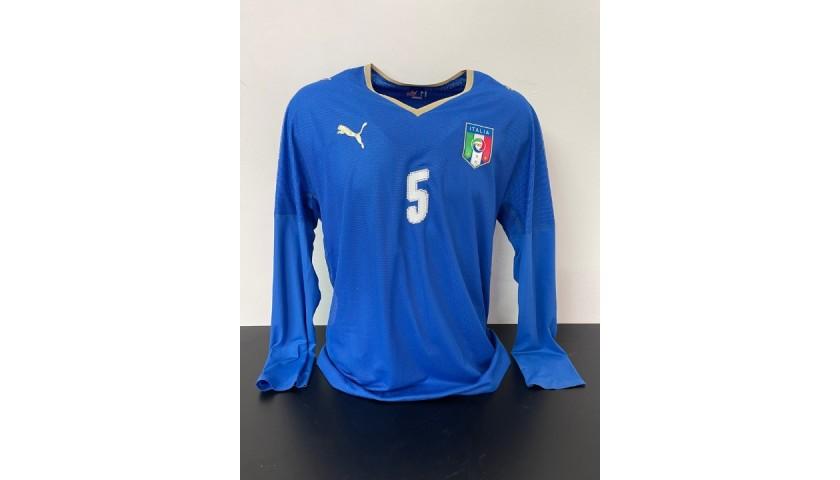 Cannavaro's Italy Match Shirt, 2006/07